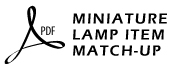 CEC Lamps Item Match-Up by Part #